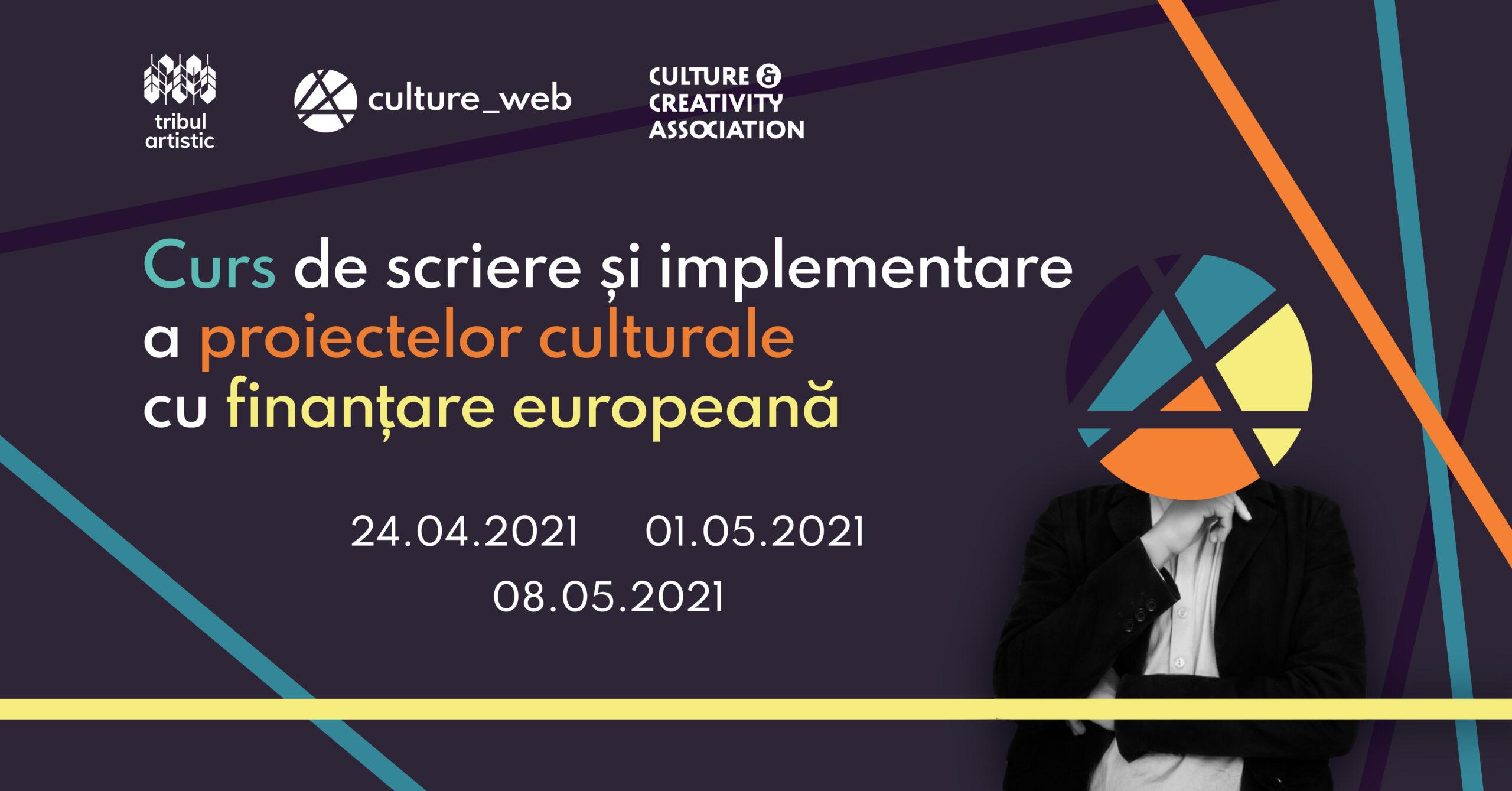 Curs scriere si implementare proiecte culturale cu finantare europeana